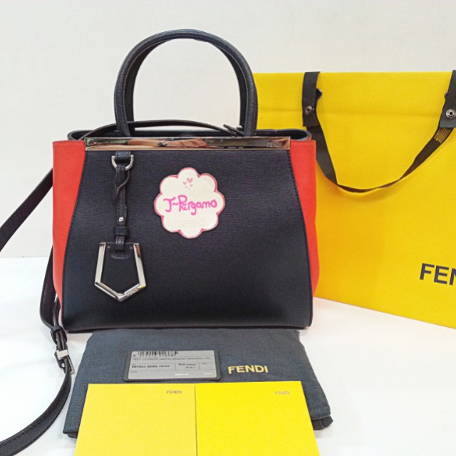 93f8ae1da2c7 Authentic Fendi 2 Jours Small Tote Bag    Only For Sale       No ...