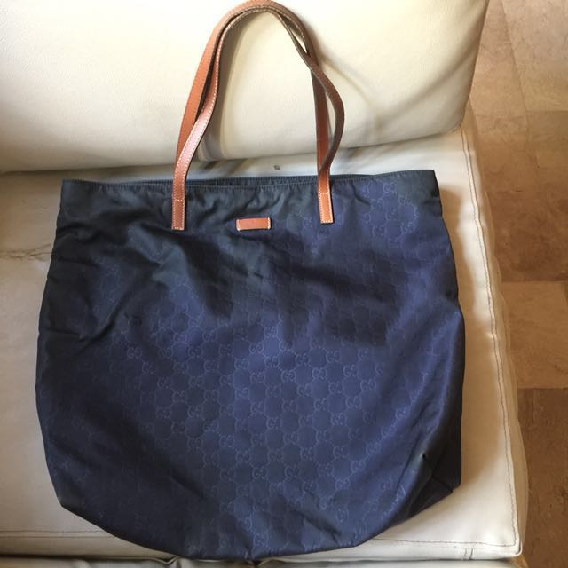 Authentic Gucci Tote Bag (Large size)