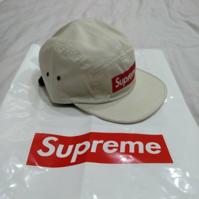 cf4cc4a6918 Authentic Supreme Washed Chino Twill Camp Cap