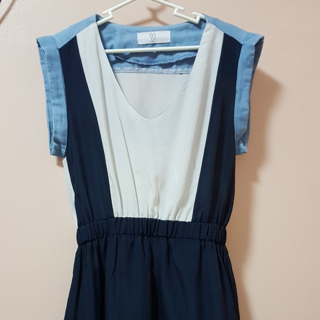 Bayo Block Casual Dress