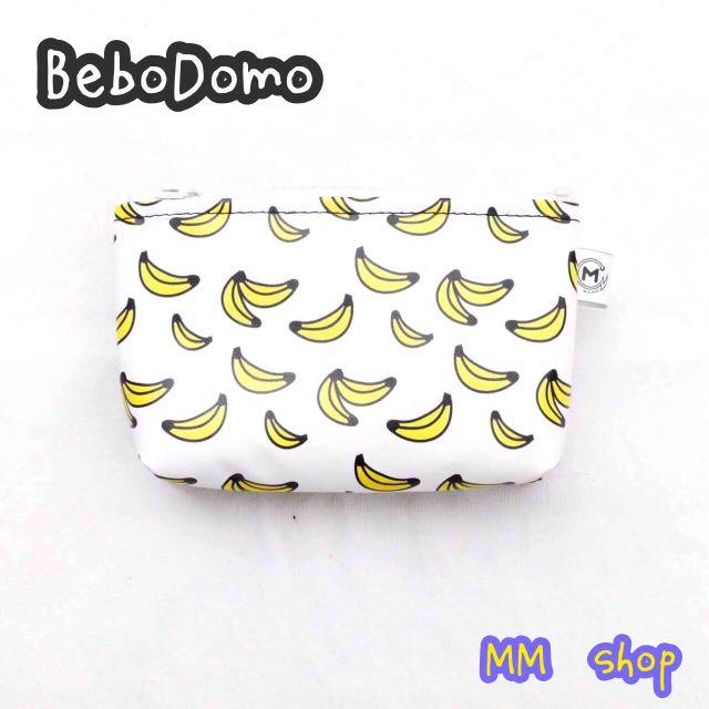 💋《BeboDomo》夥伴店家MM-超可愛香蕉🍌零錢包