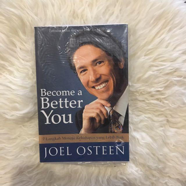 Become A Better You Joel Osteen's Book
