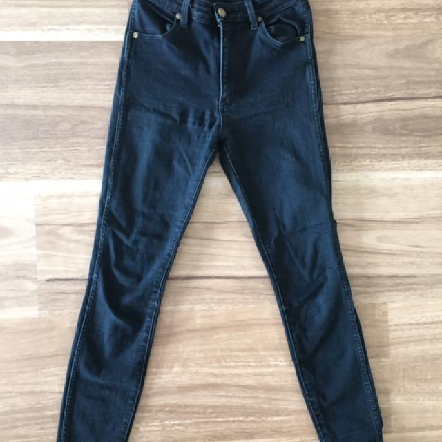 Black Rolla's High Waisted Denim Jeans