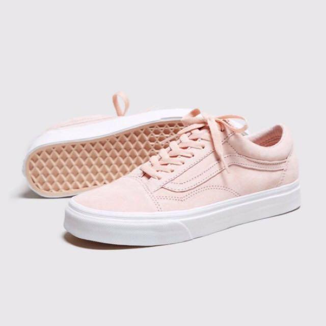 Brand New] Vans Old Skool Pink Suede
