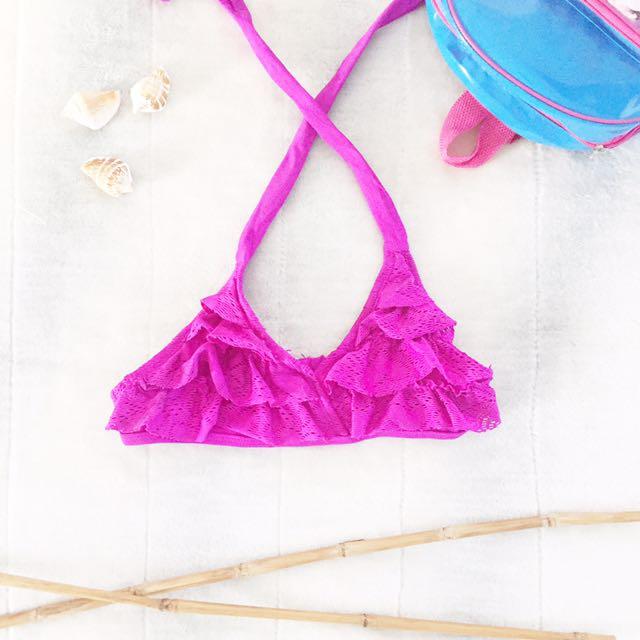 Branded swimwear for girls