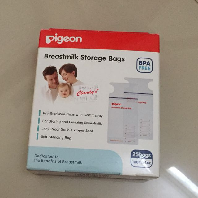 Breastmilk storage bag 2 pack