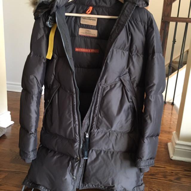 Brown Authentic xs Parajumper Winter Coat