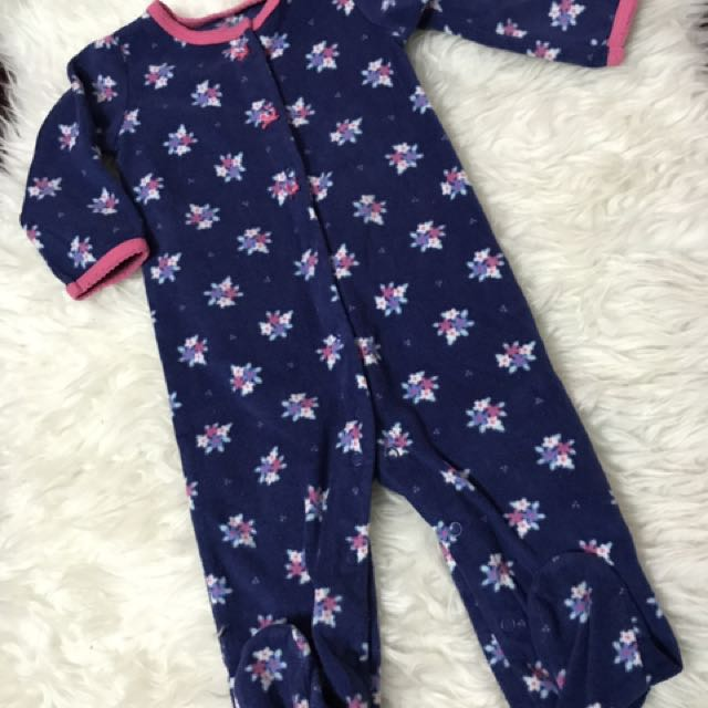 Carters sleepsuit