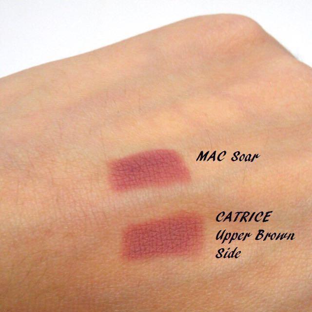 CATRICE waterproof lip liner (upper brown side)