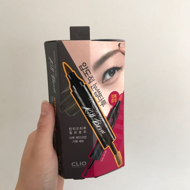 clio tinted tattoo duo lip and eyebrow