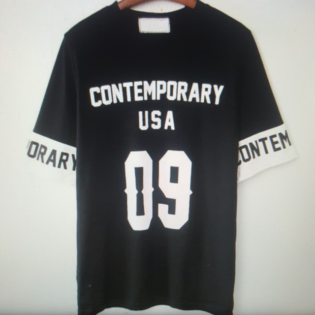 Contemporary USA print T-shirt