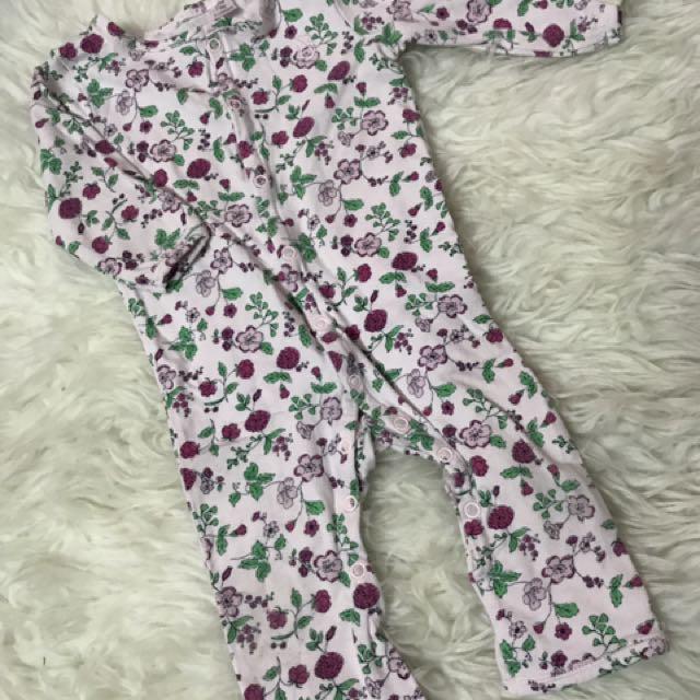 Cotton on sleepsuit