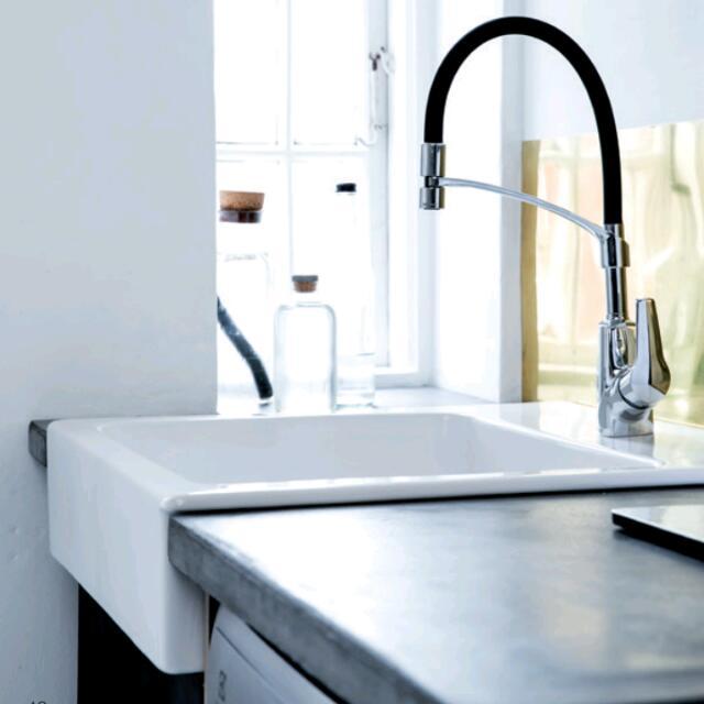 Damixa Rowan PRO Sink Faucet Cold/Hot Mixer Solid Flexible Black ...