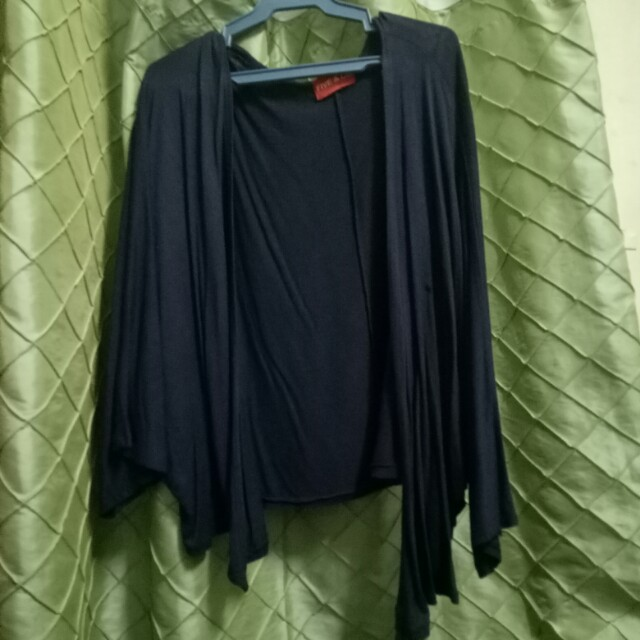 Dark Blue Flowy Cardigan