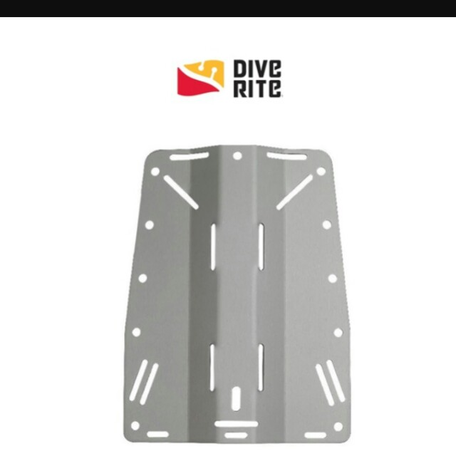 Diverite Aluminum Backplate with standard harness