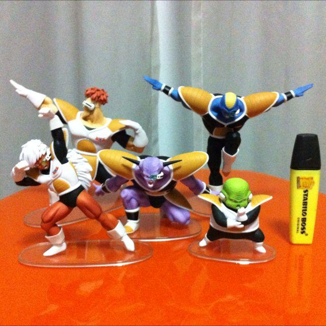 Dragon Ball Ginyu Force Set Very Rare Toys Games Bricks