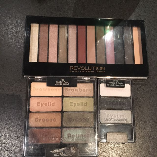 Drug Store Eyeshadow Palettes