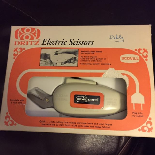 Electric Scissors ✂️