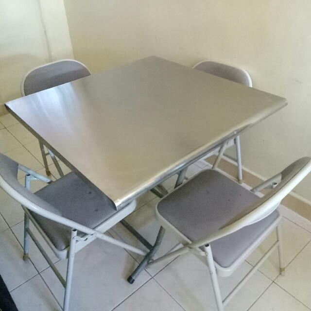 Folding Table and Chair (SET)