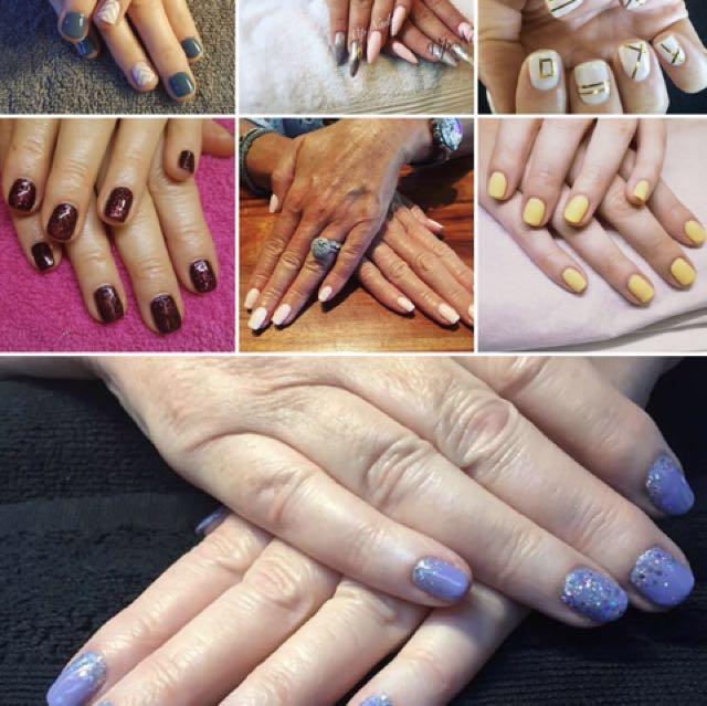 Full cnd shellac manicure