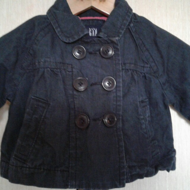 GAP BABY Girl's Maong Jacket (hanging)