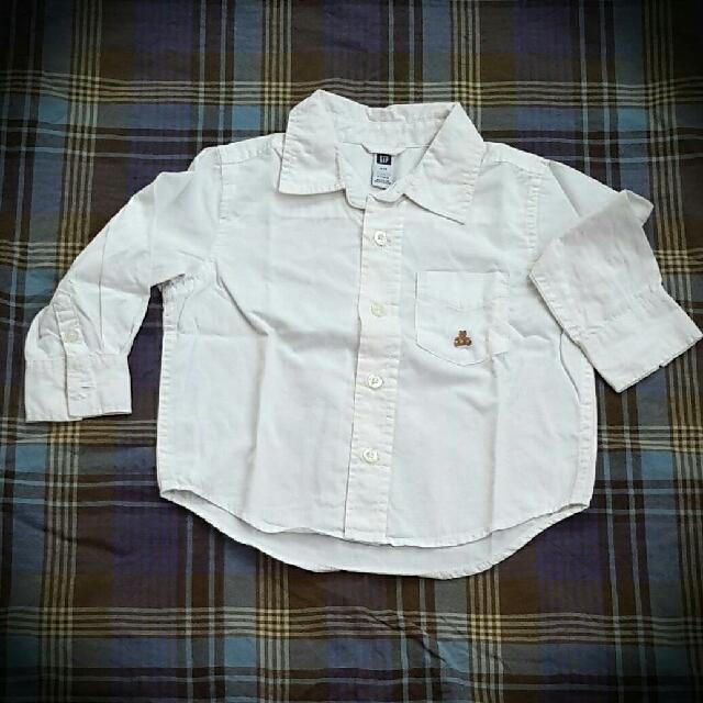 GAP toddler white shirt ori