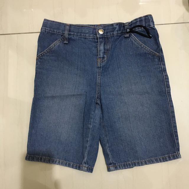Giordano teens denim shorts