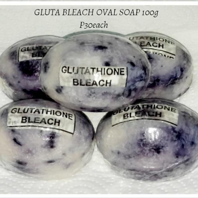 Gluta Bleach Oval Soap