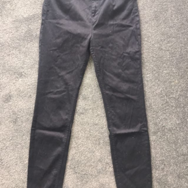 Guess High Rise Jeans Black