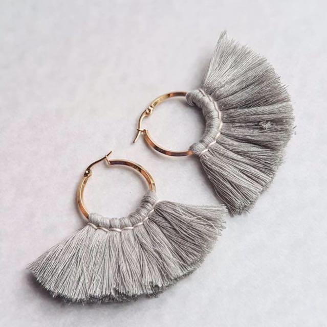 Handcrafted Tassel Earrings