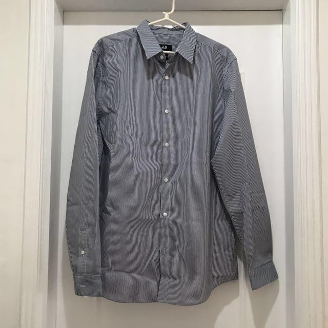 H&M Easy Iron Shirt Slim Fit