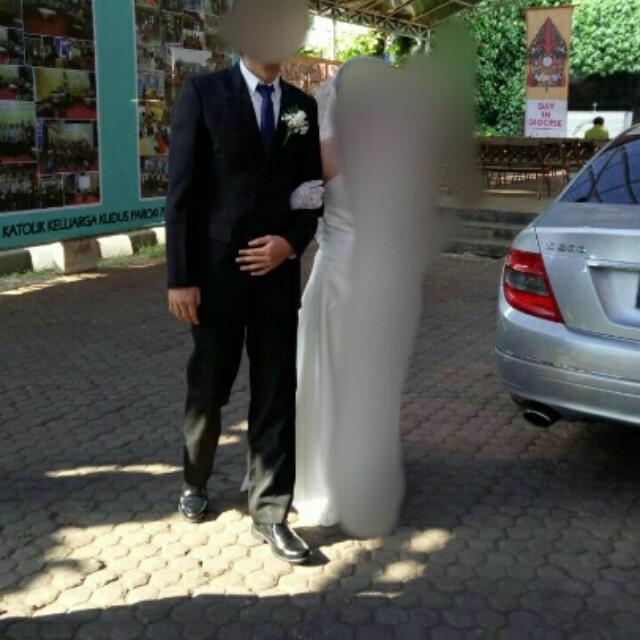 Jas Hitam Ex Wedding