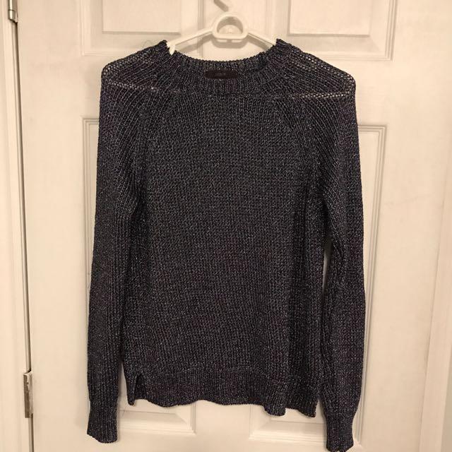 Jcrew knit sweater size small