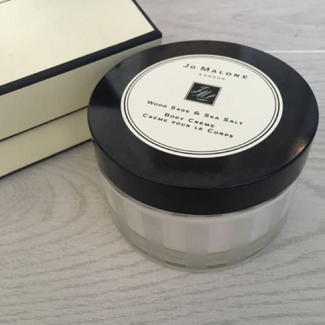 Jo Malone 香水乳液 全新 175ml Wood Sage&sea Salt /Body Cream