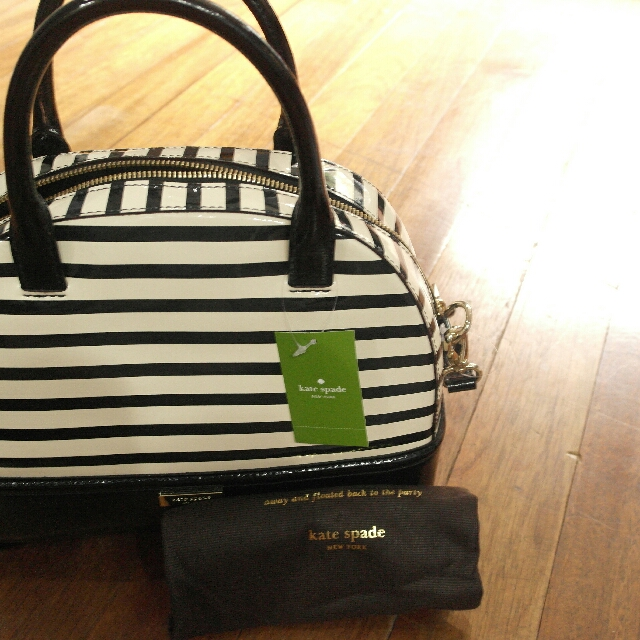 Kate Spade Striped Bag