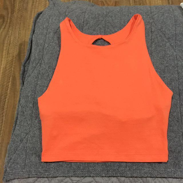 Kookai semi backless top