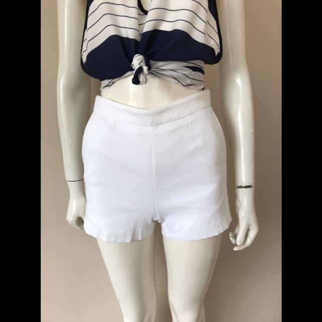 Kookai white shorts