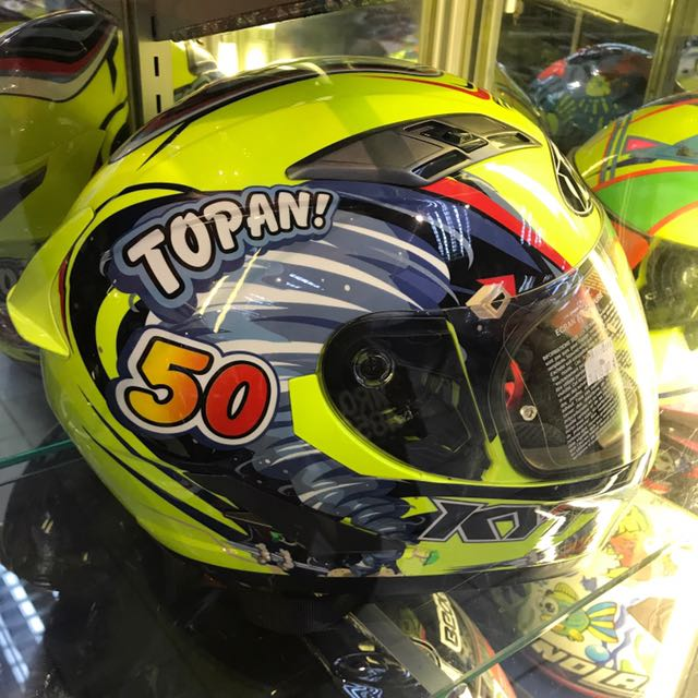 KYT Full Face Helmets L Size Auto Accessories On Carousell