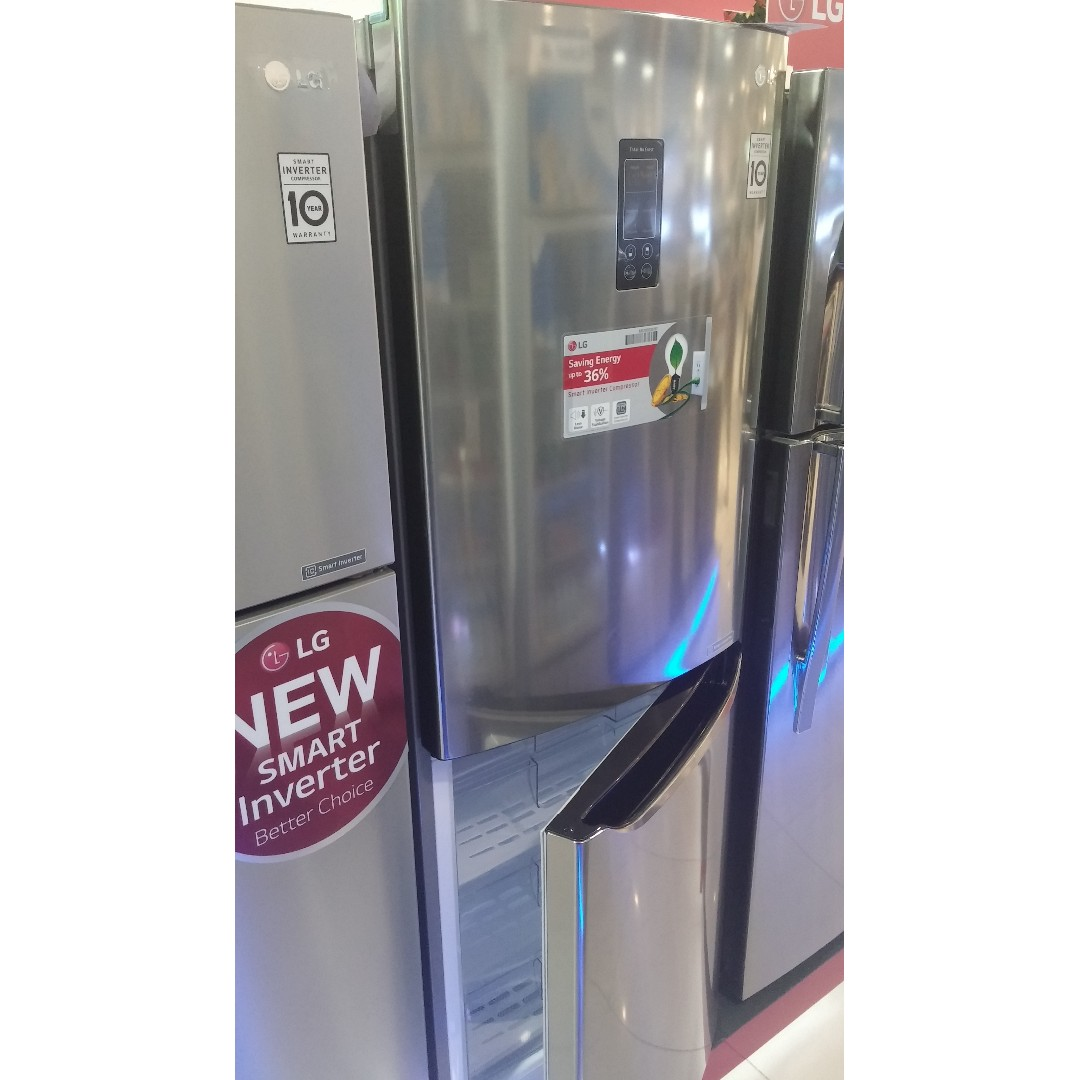 Lg Inverter No Frost Refrigerator Bottom Freezer 11 1