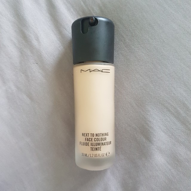 NEW MAC Next to Nothing Foundation
