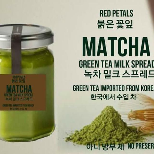 Matcha Green Tea Spread