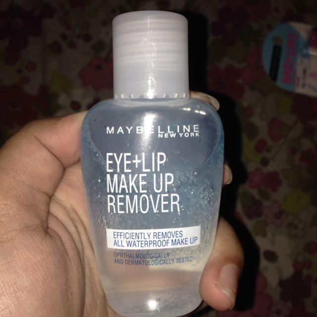 MAYBELINE MAKE UP REMOVER