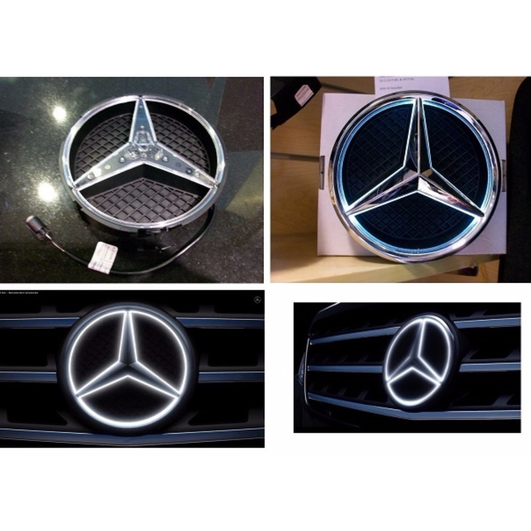 Mercedes Bbenz Original Illuminated Star Car Accessories On Carousell