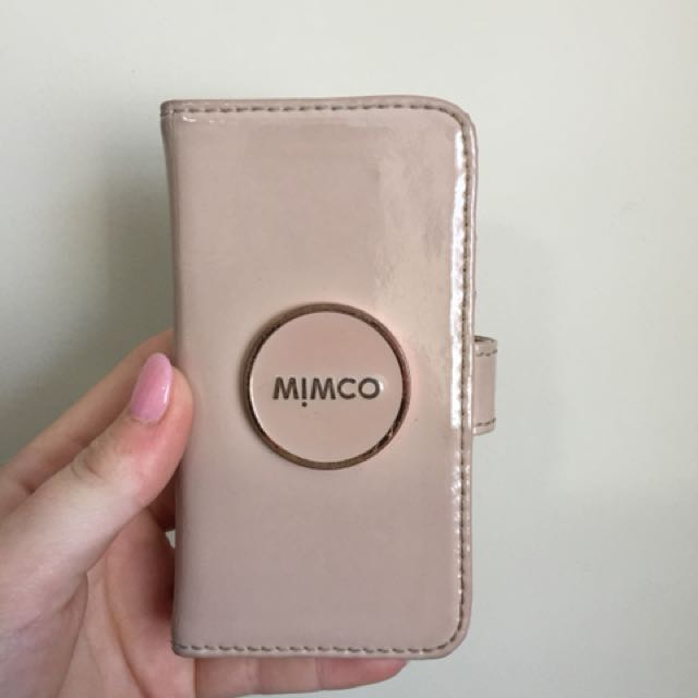 best website a193d ce8f3 MIMCO iPhone 5/5s flip case, Women's Fashion, Accessories on Carousell