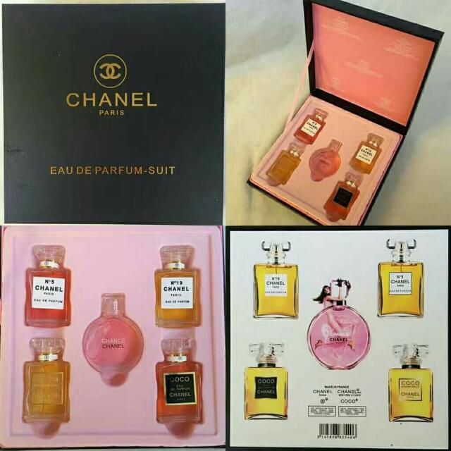 Miniature Chanel 5 In 1 Perfume Set 5ml Health Beauty Perfumes