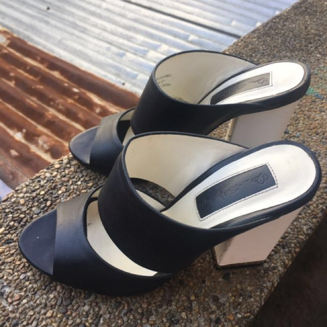Miss Selfridge Slip On Heels (fits Eur36)