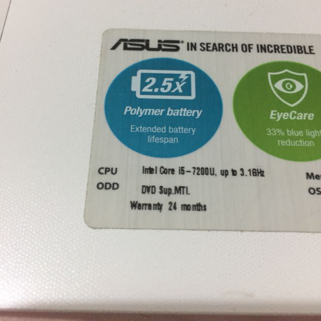 My Asus Laptop Just Used For 8 Months