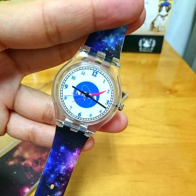 義賣#NASA塑膠手錶