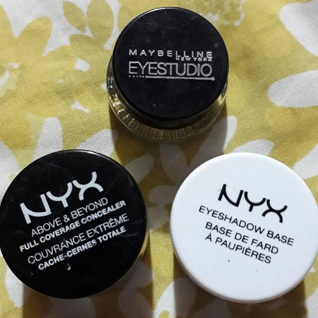 NYX Eyeshadow Primer & NYX Full Coverage Concealer