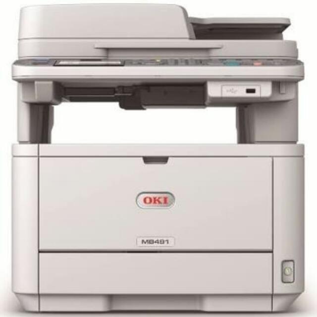 OKI MB491 Multi-Function Printer